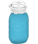 Squeasy Gear Snacker Clear Blue 6oz