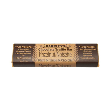 Barkley\'s All Natural Hazelnut Chocolate Truffle Bar