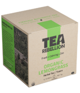 Tea Rebellion Organic Lemongrass Herbal Tea