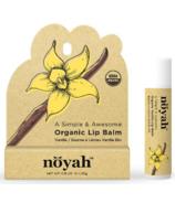 noyah Organic Vanilla Lip Balm