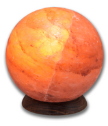 Heartfelt Living Planet Pink Salt Lamp