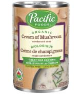 Soupe condensée crème de champignons biologique Pacific Foods