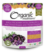 Organic Traditions Maca for Women with Probiotics