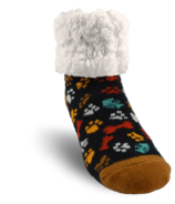 Pudus Classic Slipper Sock Dog Paw Kids