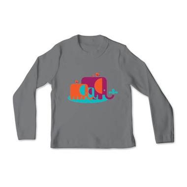 All Good Living Kids Elefunts Long Sleeve T-Shirt