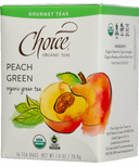 Choice Organic Teas Peach Green Tea