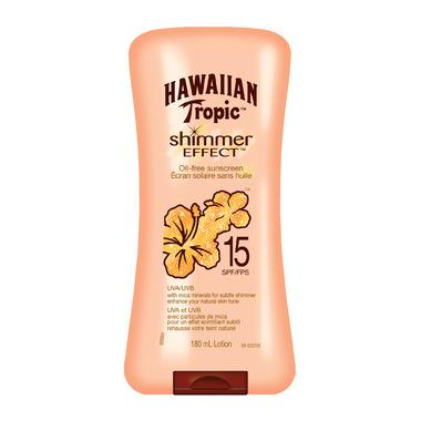 Hawaiian Tropic Shimmer Effect Sunscreen Lotion
