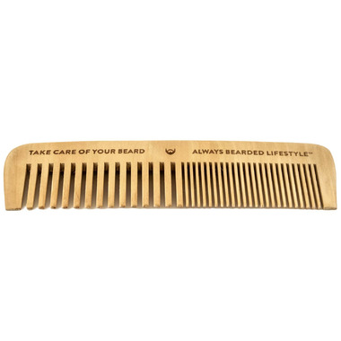Always Bearded Lifestyle Anti-Static Maple Beard Comb