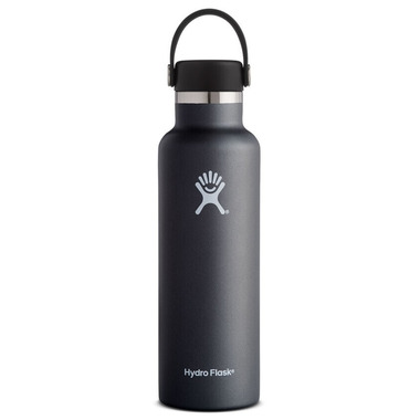 Hydro Flask Standard Mouth With Flex Cap Black