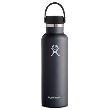 Hydro Flask Standard Mouth With Flex Fap Black