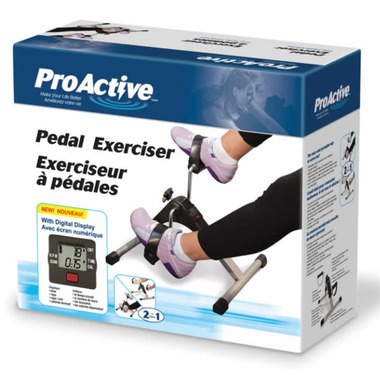 ProActive Pedal Exerciser With Digital Display - ProActive