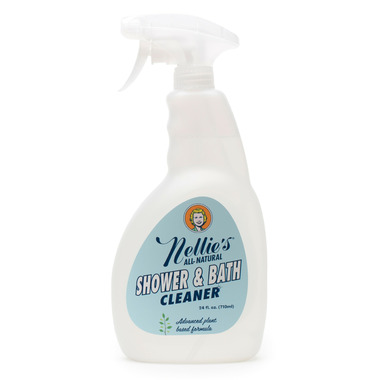 Nellie\'s All-Natural Bath & Shower Cleaner