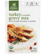 Simply Organic Turkey Flavored Gravy Mix