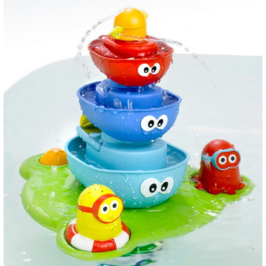 Yookidoo Stack N\' Spray Tub Fountain