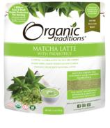Organic Traditions Matcha Latté avec probiotiques