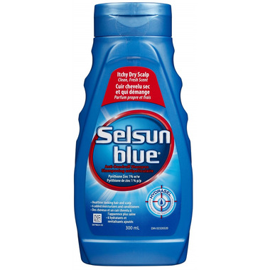 Selsun Blue Shampoo Itchy Dry Scalp