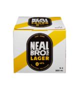 Bière légère sans alcool de Neal Brothers Lager