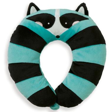 Manhattan Toy Travel + Comfort Neck Raccoon Pillow