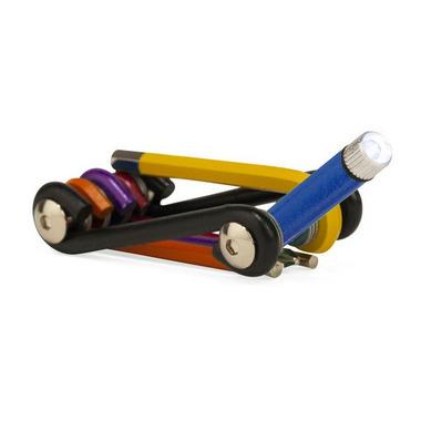 Kikkerland Rainbow Multi Tool + Light