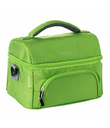 Bentgo Deluxe Insulated 2-Compartment Lunch Tote Green