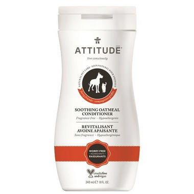 ATTITUDE Furry Friends Soothing Oatmeal Pet Conditioner Fragrance Free