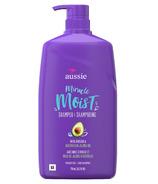 Aussie Paraben-Free Miracle Moist Shampoo With Avocado & Jojoba Oil