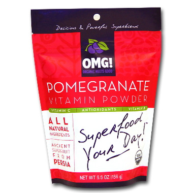 OMG! Organic Meets Good Pomegranate Vitamin Powder