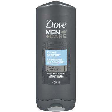 Dove Men+Care Clean Comfort Body + Face Wash
