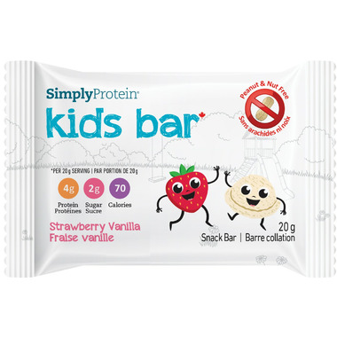 Simply Protein Kids 5 Pack Strawberry Vanilla