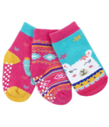 ZOOCCHINI Buddy Baby Socks Set Laney the Llama 0-24 Months