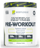 Bodylogix Natural Pre-Workout Green Apple