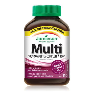 Jamieson Women\'s Adult Multivitamin 50+ Value Pack