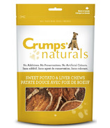 Crumps Naturals Sweet Potato & Liver Chews