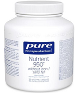Pure Encapsulations Nutrient 950 sans fer