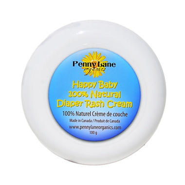 Penny Lane Organics Happy Baby 100% Natural Diaper Rash Cream
