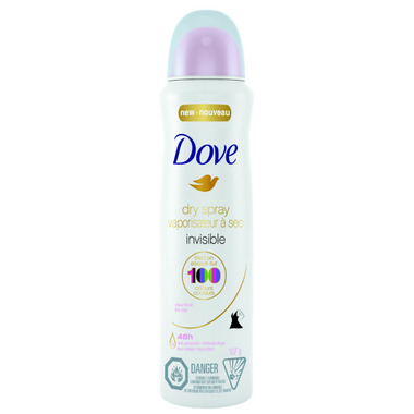 Dove Invisible Clear Finish Antiperspirant Dry Spray