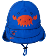 Calikids Long Back Quick-Dry Cap Nautical Blue