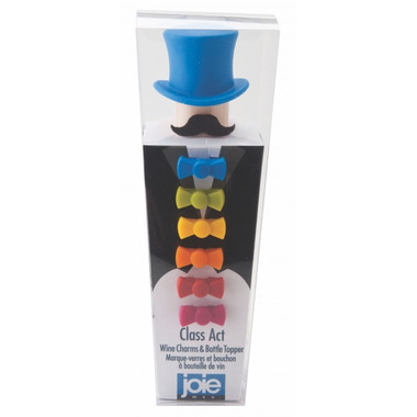 Joie Hat and Bowtie Wine Charms