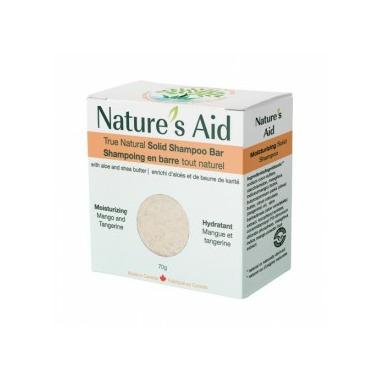 Nature\'s Aid Solid Shampoo Mango Tangerine