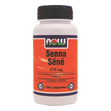 NOW Foods Senna 470 mg