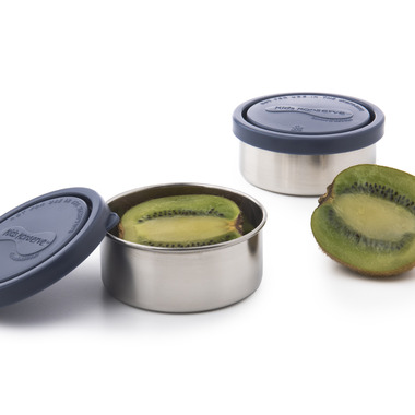 U-Konserve Kids Konserve Small Round Stainless Steel Containers in Ocean