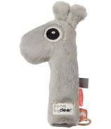 done by deer Squeaker Rattle Raffi Grey