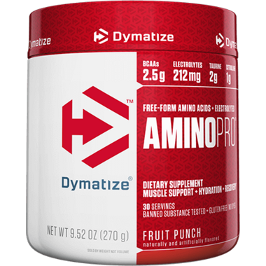 Dymatize Nutrition Amino Pro Caffeine Free Fruit Punch