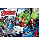 greenre Eco-Marvel Avenger Giant Colouring Pad with Stickers