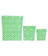 BeeBAGZ Beeswax Bags Starter Pack Green