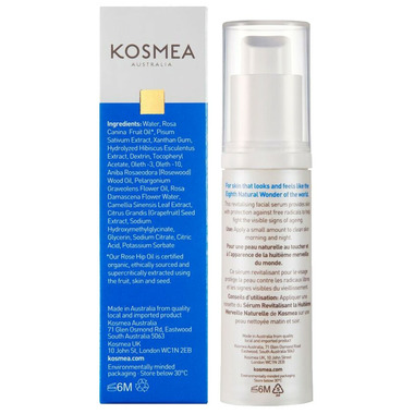 Kosmea Eighth Natural Wonder Revitalising Facial Serum Large