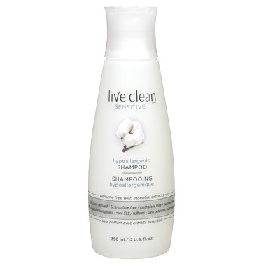 Live Clean Sensitive Hypoallergenic Shampoo
