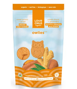 Love Child Organics Owlies Ginger and Sweet Potato