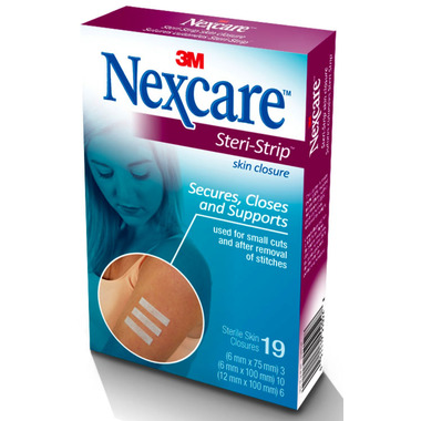 3M Nexcare First Aid Steri-Strip Skin Closures