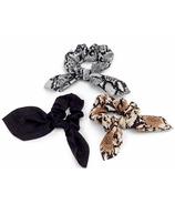 Zoe Ayla 3-Pack Ribbon Scrunchies